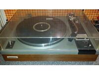 Vintage Pioneer PL-115D Turntable with Shure Me75JE Cartridge and N75EJ Stylus - VGC