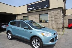 2013 Ford Escape SEL Blk Leather Interior, 4x4, Heated Seats