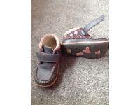 Clarke girls shoe boots