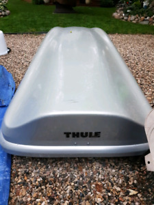 Thule cargo box for sale $300.