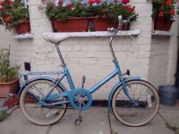 Vintage Raleigh Saphire 3 speed bike