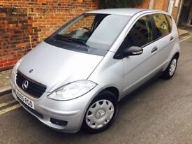 2005 MERCEDES A CLASS A150 AUTOMATIC 2 OWNERS 1 YEAR MOT