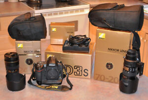 Nikon Professional Photography Equipment