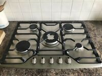 De Dietrich 5 Ring Gas Hob. Very good condition selling as installed new kitchen
