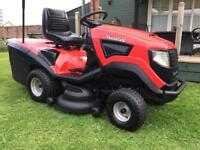Ride on mower sit on lawnmower garden tractor lawn mower
