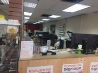 Signage & Printing Business for Sale