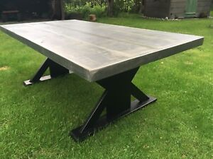 Locally made rustic tables!!