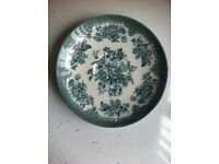Vintage Enoch Wedgwood Asiatic Pheasant Green Plate