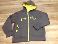 Brownie zip up jacket