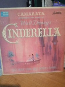 Vinyl Cinderella and Bambi