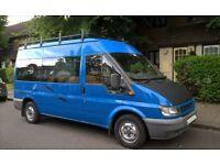 4 Birth 6 Belted Seats Ford Transit MK6 2003 MWB Conversion Camper Van Motorhome