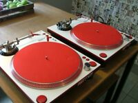 Stanton str8/150 custom x2 ortofon carts turntables