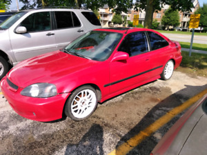 1999 Civic SI project