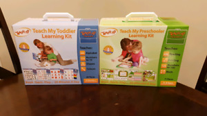Teach my Toddler and  Preschooler Learning kits New Unopened