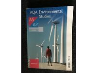 A level AQA environmental studies revision guide