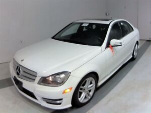 2013 Mercedes-Benz C-Class C300 4MATIC~44KMS~ONE OWNER~SUNROOF~A