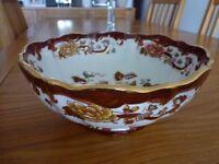 Mason brown velvet bowl