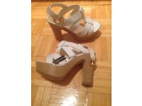 Lady's Size 3 heels brand New never been used from new look