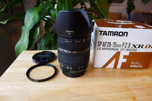 Tamron AF 28-75mm F:2.8 XR DI Macro  Nikon Mount  Excellent