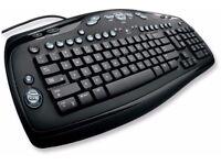 Logitech Media Keyboard Elite - USB Keyboard