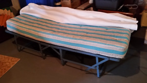Single Roll away Bed with Mattress