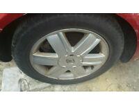 "Renault Megane mk2 1.9 dci 4x100 16"" alloy wheels whole car breaking"