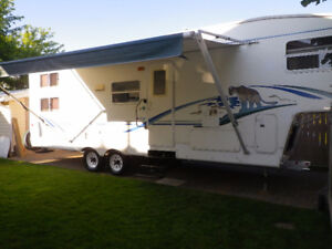 30' Cougar 5th Wheel Triple Bk (for sale 7-10 days only)
