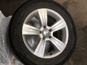 Khumo tires with rims jeep