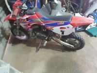 childs motorbike 50 cc