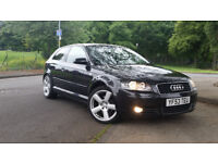 Audi A3 2.0 TDI Sport 3 dr 6 Speed manual 140 bhp