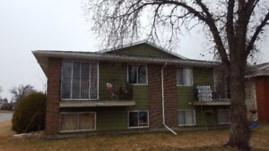Innisfail for rent. 2-Bedroom Condo in fourplex. 1/2 Month Free!