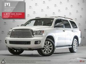 2012 Toyota Sequoia Platinum package 4x4