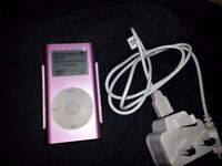 Apple Ipod Mini, 2nd Gen. 6GB, Pink Fully Working