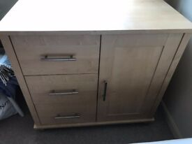 Mammas & Pappas Beech Veneer Changing Bay / Changing Table