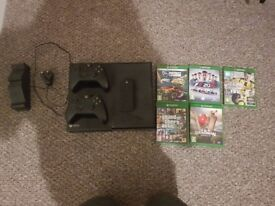 Xbox one and few games