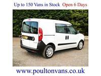 2014 (64) VAUXHALL COMBO 2300 L1 H1 SWB 5 SEAT CREW VAN 1.6CDTI, 105BHP, Small