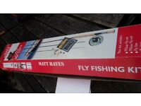 matt hayes fly fishing kit