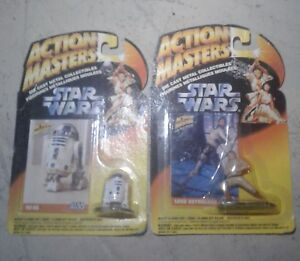 2 starwars 1994 action masters  diecast  collectables  ( new)