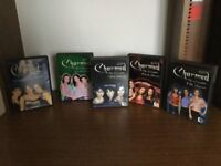 Charmed complete seasons 1 to 5, 6 DVDs in each box all unmarked