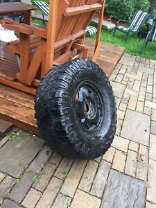 "Mud tire 35"" nego"