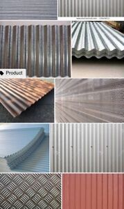 Looking for corrugated metal