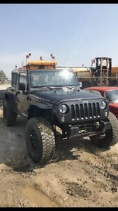 DAMAGED 2014 JEEP RUBICON ACTIVE