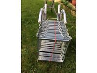 Ultimate portable fire escape ladder