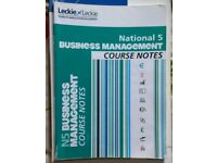 Business management national 5 book