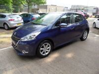 PEUGEOT 208 1.2 ACTIVE 5d 82 BHP ONLY £20 A YEAR ROAD TA (blue) 2013