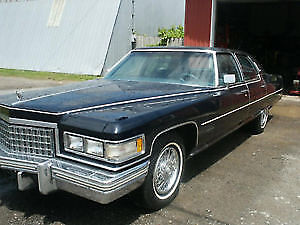 1976 Cadillac Brougham D'elegance  CERTIFIED!