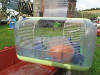 Cage for mouse or miniature hamster.