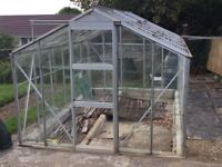 Greenhouse 12ft x 8ft height 6ft