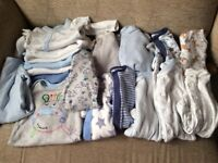 Early/Tiny baby boy clothes