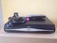 sky hd box with remote,hdmi lead ,power lead & card fully working